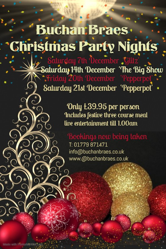 CHRISTMAS PARTY NIGHTS 2019